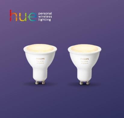 Philips Hue White Ambiance GU10 Doppelpack: bei E.ON Plus